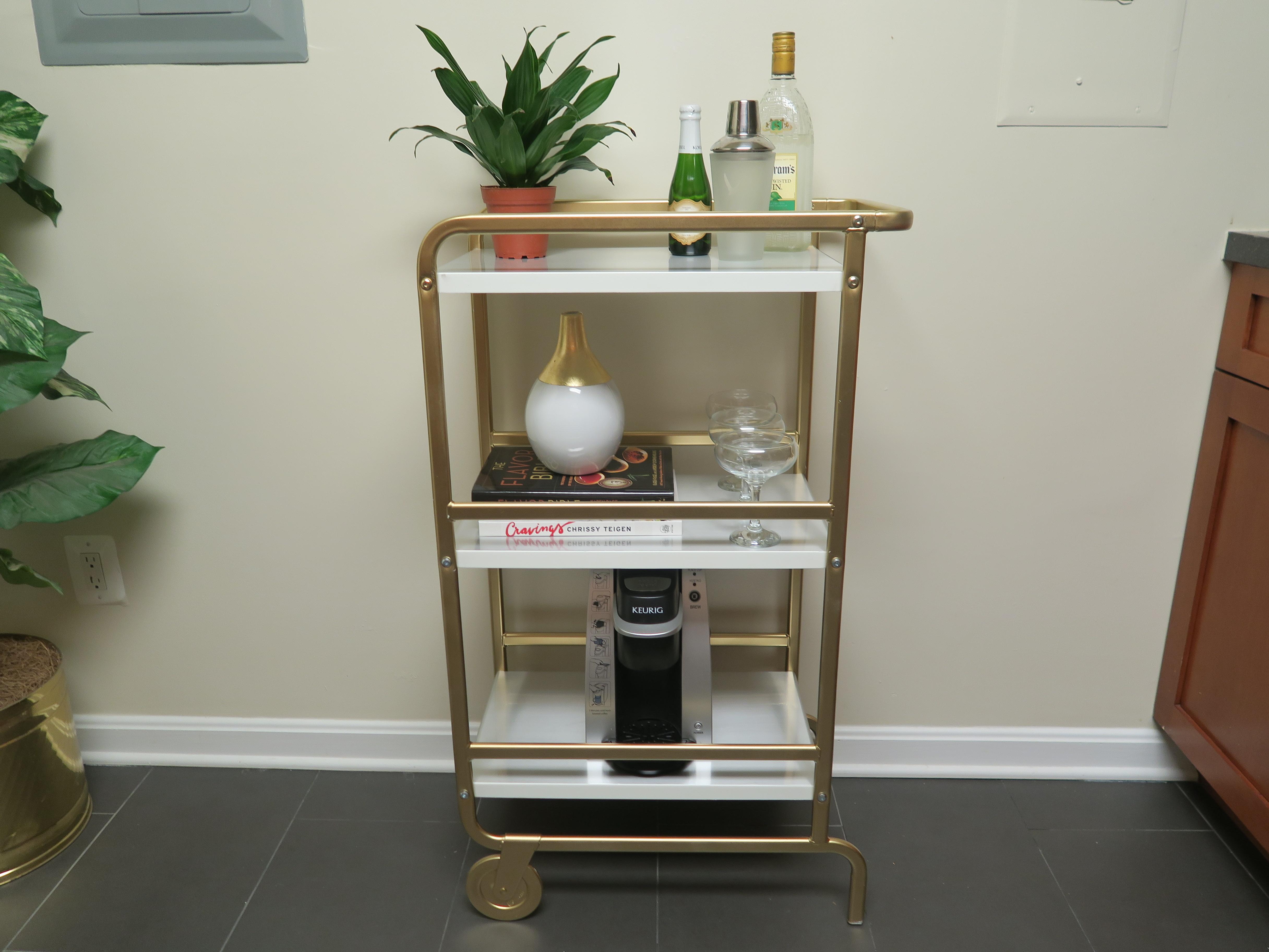 Ikea Hack Diy Bar Cart